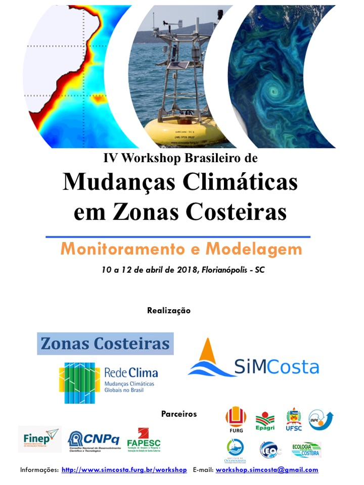 Cartaz IV Workshop MC Zonas Costeiras